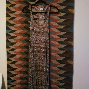 LA Hearts Tribal Maxi Dress